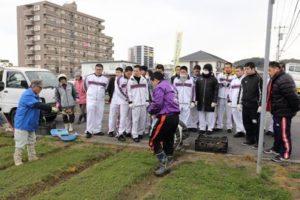 八幡工業 ボランティア