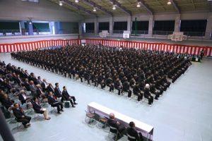 八幡工業高校 体育館