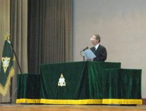 洞南会 三年生入会式13